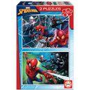 Spiderman-Puzzle-2x100-Piezas
