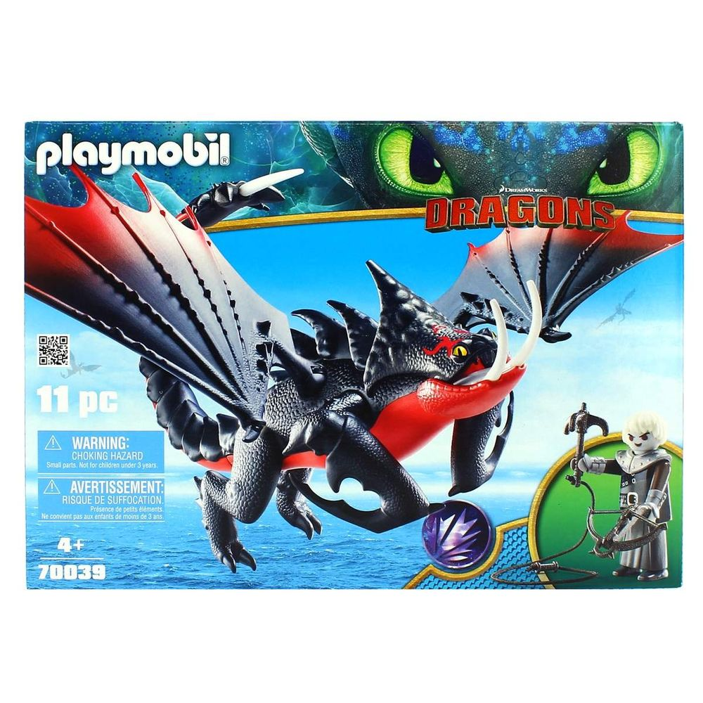Crimmel Y Venenoso Aguijón Dragons Playmobil 3 Nnvm8w0