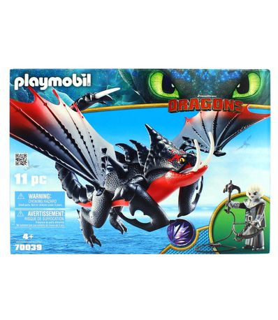 Playmobil-Dragons-3-Aguijon-Venenoso-y-Crimmel