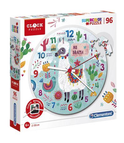 Puzzle-Reloj-Llama