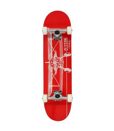 Monopatin-Skate-Flyers-Rojo