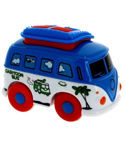 Blue-Metal-Van