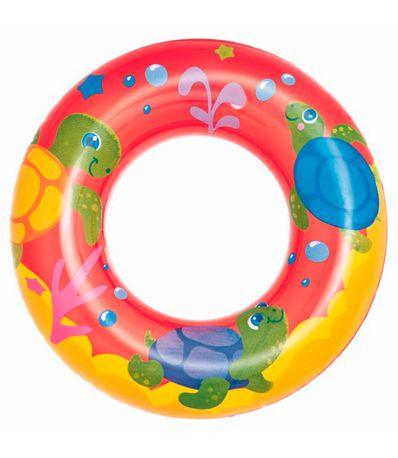 Flutuador-circular-vermelho