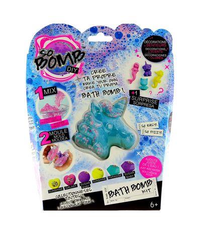 Kit-de-bomba-de-banho-verde-unicornio