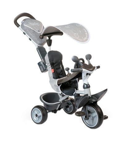 Triciclo-Conforto-Bebe-Motorista-Cinza