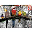 Puzzle-oiseaux-dans-la-jungle-500-pieces