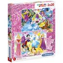 Princesses-Disney-Puzzle-2x20-Pieces