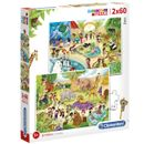Puzzle-Zoo-2x60-pieces