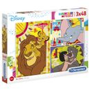 Disney-Classic-Puzzle-3x48-pieces