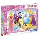 Princesses-Disney-Puzzle-104-Pieces