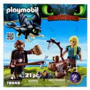Playmobil-Dragons-Hiccup-e-Astrid-com-Dragao-bebe