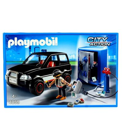 Playmobil-Thief-Safe-avec-voiture