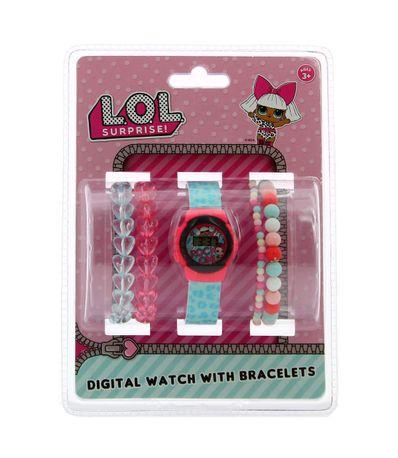 LOL-Surprise-Reloj-Digital-con-Pulseras