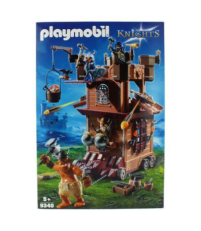 Playmobil-Knights-Fortaleza-Movil-Gnomos