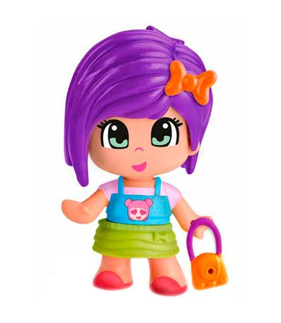 Pinypon-Emoji-Fille-Cheveux-Lilas