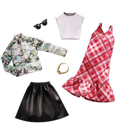 Barbie-Pack-2-Looks-Plaid-et-Camo