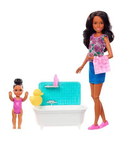 Kangourou-Barbie-avec-Accessoires-Lila