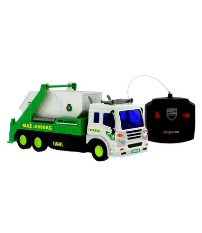 Camion-Basura-R-C-Verde