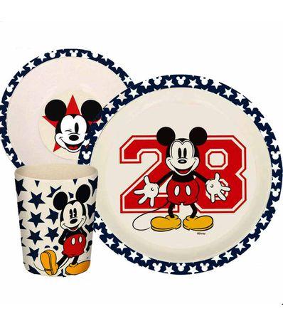 3-pecas-de-mesa-de-bambu-Mickey