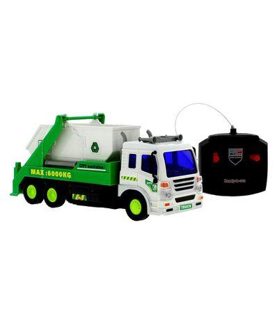 Camion-a-ordures-R---C-vert