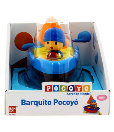 Pocoyo-Barquito