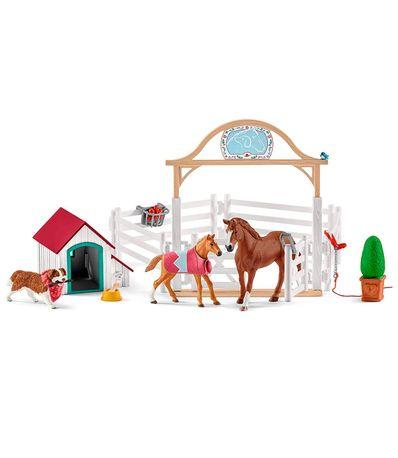 Figura-Set-Horse-Cavalos-Convidado-Horse-Club--amp--Ruby