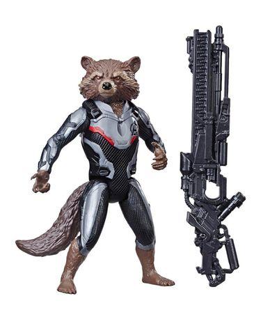 Os-vingadores-Figura-Rocket-Racoon-Power-FX