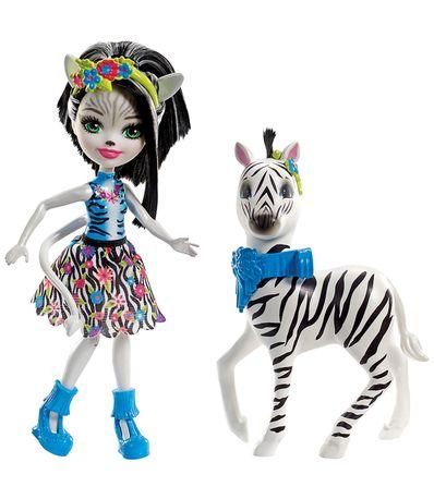 Enchantimals-Zelena-Zebra-con-Hoofette