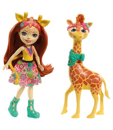 Enchantimals-Gillian-Giraffe-con-Paw