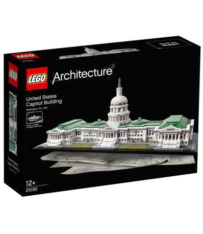 Lego-Architecture-Edificio-Capitolio-de-Estados-Unidos