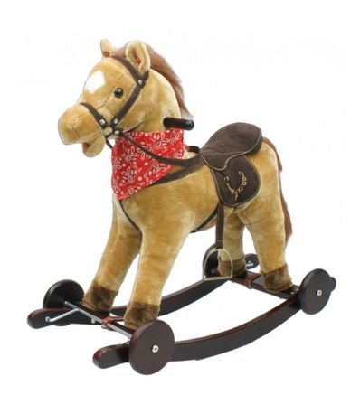 Marrom-cavalo-gangorra