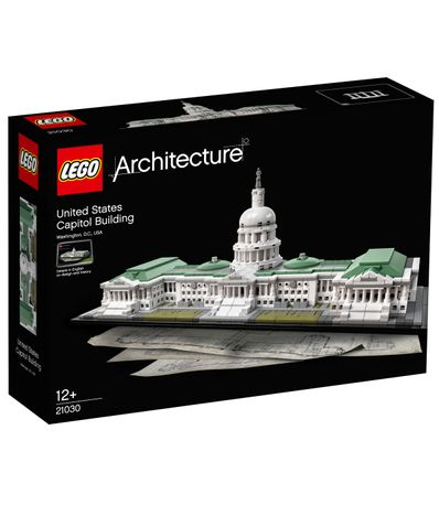 Lego-architecture-US-Capitol-Building