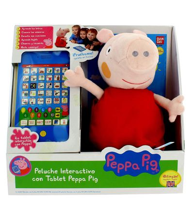 Peppa-Pig-Peluche-com-Tablet