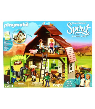 Playmobil-Spirit-Riding-Free-Establo