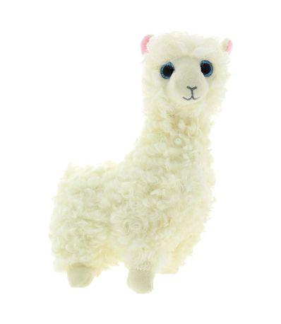 Beanie-Boo-s-Lama-Branca-Peluche-de-15cm