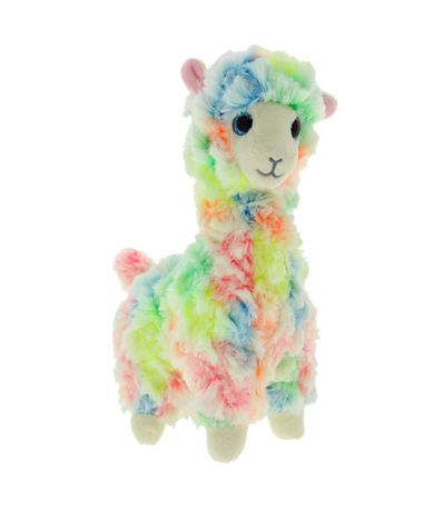 Beanie-Boo-s-Lama-colorido-Peluche-de-15-Cm