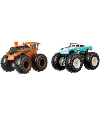 Hot-Wheels-Monster-Crazy-Punk-contra-Musculo-Puro