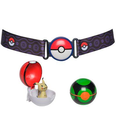 pour toute la famille plutôt sympa gamme de couleurs exceptionnelle Ceinture d'attaque Pokémon Mimikyu