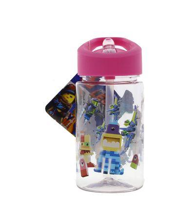 Garrafa-de-agua-cor-de-rosa-de-Lego