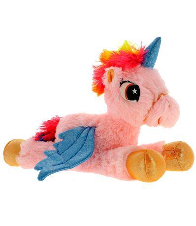 Brinquedo-de-pelucia-rosa-Unicornio-com-luz-LED