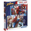 Spiderman-Puzzle-2x60-Pieces