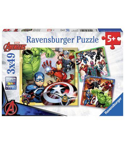 The-Avengers-Puzzle-3x49-pieces