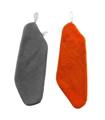 Pack-2-toallas-de-guarderia-gris-naranja