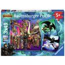 Dragons-3-Puzzle-3x49-pieces