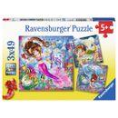Puzzles-Sirenas-en-el-Mar-49-piezas