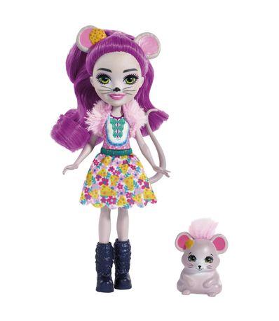 Enchantimals-Mayla-Mouse-con-Fondue
