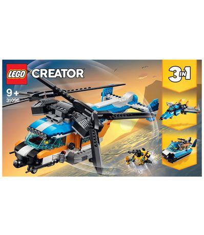 Lego-Creator-Helicoptero-de-Doble-Helice