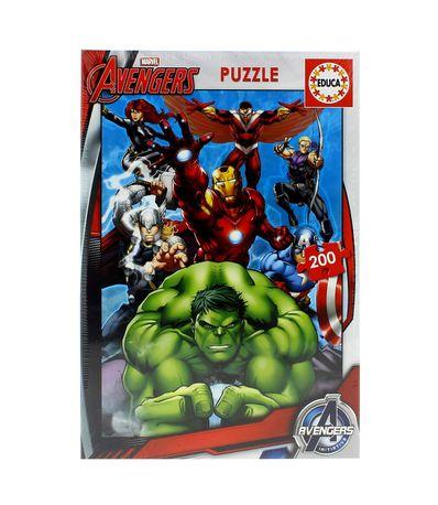 Vingadores-Puzzle-200-pecas