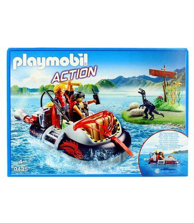 Hovercraft-Dino-Playmobil-Action