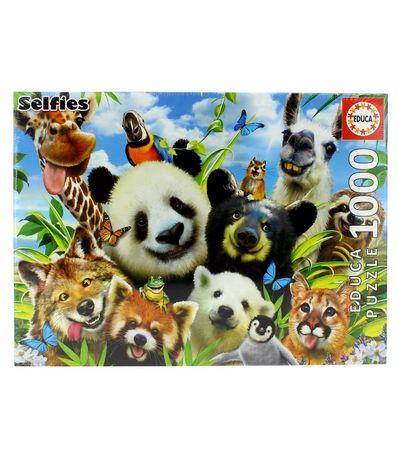 Puzzle-Selfie-Llama-Drama-1000-Piezas